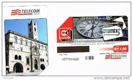 TELECOM ITALIA  - C.& C  F4674 -  15 ANNI DI GRANDI COLLEZIONI: MARCHE (ASCOLI PICENO)      -    USATA - Pubbliche Speciali O Commemorative