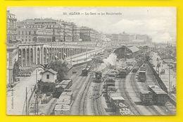 ALGER La Gare Et Les Boulevards (Collection Idéale P.S) Algérie - Algiers