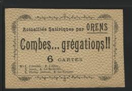 ORENS -  Sommaire D'une Pochette : Des COMBES .... GREGATIONS - Orens
