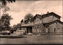 ! 1964 Ansichtskarte Demmin Bahnhof , Gare - Demmin
