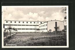 """AK Gross Krotzenburg, Blick Auf """"Kreuzburg"""", Missionshaus Der Weissen Väter - Deutschland"""