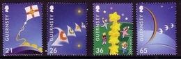 GUERNSEY MI-NR. 851-854 ** EUROPA 2000 - STERNE - 2000