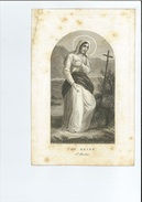 ISABELLA M T WOUTERS ° ANTWERPEN 1813 + 1861 LITH VANDENNEST - Images Religieuses