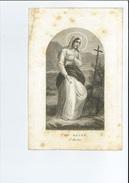 ISABELLA M T WOUTERS ° ANTWERPEN 1813 + 1861 LITH VANDENNEST - Devotion Images