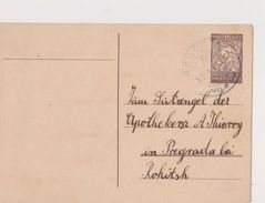V62  >  SLOVENIA  --  VERIGARI, CHAINBREAKERS  --    STEMPEL  REGOC  _  DOPISNICA    _  1921 - Slowenien