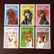 Benin 1997 Dogs MNH - Perros