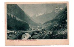 Gruss Aus Gurtnellen Gotthardbahn-voir état - Suisse