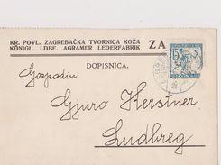 V67  >  SLOVENIA  --  VERIGARI, CHAINBREAKERS  --    DOPISNICA  _  AGRAMER LEDERFABRIK - Slovenië