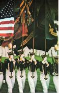 Etats Unis. Color Guard, Naval Academy, Annapolis - Annapolis – Naval Academy