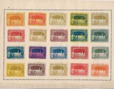 Erinnophilie BRUXELLES Belgique Lot 22 Vignettes Exposition 1897 + 1 De 1910.... .G - Erinnophilie