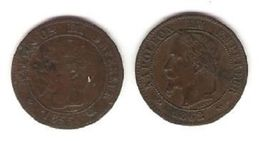 2 Pièces Napoléon III - France