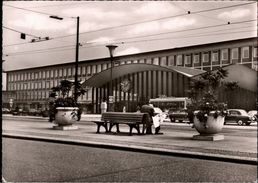 ! Ansichtskarte Bahnhof Bochum , Gare - Bochum