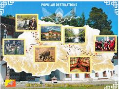 BHUTAN- 2016 TOURIST DESTINATIONS-The Land Of Thunder Dragon- MNH SHEETLET - Bhutan