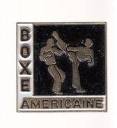 Pin's -    BOXE AMERICAINE - Boxe