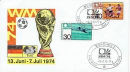 Germany  - Sonderstempel / Special Cancellation (C1010) - Coppa Del Mondo