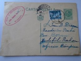 D154266 Romania  Postal Stationery  1938 CAMPINA - Ploiesti  Ioan A. Rovinescu - Enteros Postales