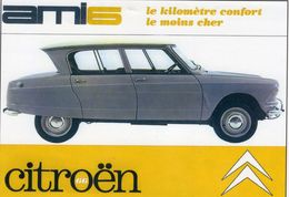 Citroen Ami 6  -  1966  -  CPM - Passenger Cars