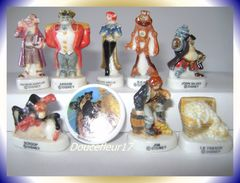 Planète Au Trésor... Lot De 9 Fèves .. Ref AFF : 31-2003...(pan 0023) - Disney