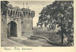 19. NARNI : Porta Ternana -  Cachet De La Poste 1937 - Perugia