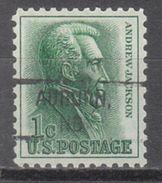 USA Precancel Vorausentwertung Preo, Locals Nebraska, Auburn 828 - Vereinigte Staaten