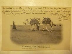 CAMPAGNE D'ORIENT 1914-1915-1916 - SALONIQUE - Départ D'une Caravane - Grèce
