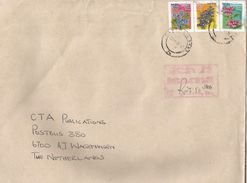 South Africa 2011 Cape Flowers Postage Due Charge Cover - Strafport