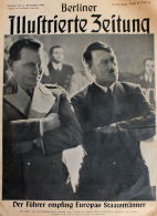 Berliner Illustrierte Zeitung 1941 Nr.50 Der Führer Empfing Europas Staatsmänner - Deutsch