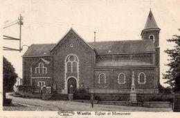 Wanlin  église Et Monument - Houyet