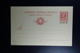 Italy : Carte Postale Levant - Buitenlandse Kantoren