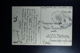 Italy : Carte Postale 1916 KuK Kriegsmarine  SMS Monarch At Kotor / Cattaro To SMS Karlsburg - 1900-44 Vittorio Emanuele III