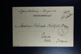 Hungary : Carte Postale 1901  Budapest To Canea Turquie - Ungheria