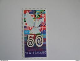 1995  Nouvelle Zélande - Yvert 1415 Onu  UNO Oiseaux Birds ** Néo-Zélandais Célèbres Scott 1313  Michel 1471  SG 1942 - Nouvelle-Zélande