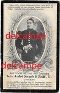 OORLOG GUERRE Jean Humblet Neerwinden Vestings Soldaat Gesneuveld In Het Fort Loncin Augustus 1914 Liege - Santini