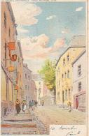 Arlon   1081          Escalier Et Donat  (Illustration Franoc, Lith JL Goffard ) - Arlon