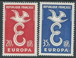 1958 EUROPA CEPT FRANCIA MH * - R35-3 - Europa-CEPT