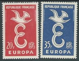 1958 EUROPA CEPT FRANCIA MH * - R35-2 - Europa-CEPT