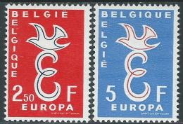 1958 EUROPA CEPT BELGIO MH * - R35-3 - Europa-CEPT