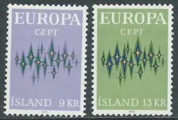 1972 EUROPA CEPT ISLANDA MNH ** - R35-5 - Europa-CEPT