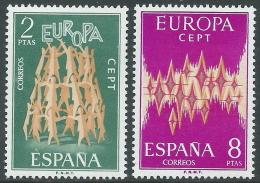 1972 EUROPA CEPT SPAGNA MNH ** - R35-9 - Europa-CEPT