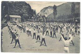 Cpa Autriche - Ferienhort Am Abersee - Turnplatz ( Enfants, Gymnastique ) - Autriche
