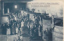 Vendange Pou Les Caves Carnot à Dijon - Adr.Sarrazin - 1932          (A-53-140121) - Vignes