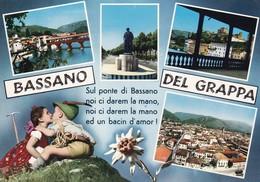 MULTI VIEW/VISTAS MULTIPLES 1980S - BASSANO DEL GRAPPA, ITALIA/ITALY/L'ITALIE - BLEUP - Vicenza