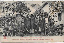 CPA Tonkin Indochine Asie Yen Thé Pirates Révolte Bande De Dé Tham Circulé - Viêt-Nam