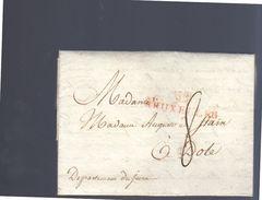 Bruxelles Garuievo To Mmeaugusto  De Stain Abbesse De Chateau Chalon à Dole (EO2-66) - 1794-1814 (Période Française)