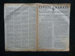 Estote Parati Circolare N.6 ASCI Roma Luglio 1945 Lettera Montini Scautismo - Non Classificati