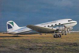 Avion De Ligne  - ( Voir Description Au Dos De La Carte ) - 1946-....: Moderne
