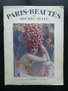 Folies Bergere Paris Beautes Au Music Hall Paris Anni '20 Varietà Avanspettacolo - Books, Magazines, Comics