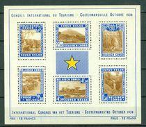 Belg. Congo/Congo Belge 1938 OBP/COB Bl 2** MNH - Belgisch-Kongo