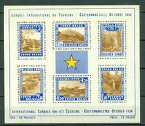 Belg. Congo/Congo Belge 1938 OBP/COB Bl 2** MNH - 1923-44: Ungebraucht