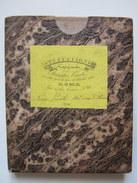 Pianta Di Roma Pubblicata Nell'Anno 1835 Ruga Monaldini Mappa Monumenti Rioni - Altri